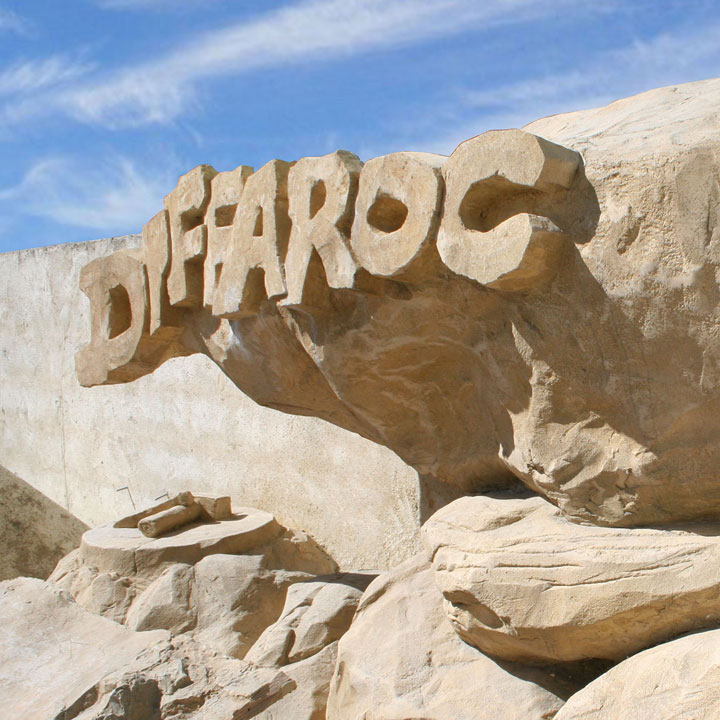 Diffaroc, créateur de faux rochers et décors