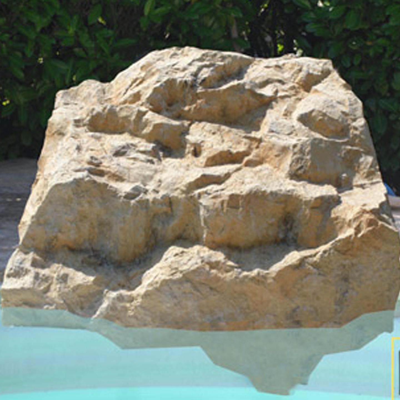 Les locaux techniques diffaroc for Faux rocher local technique piscine
