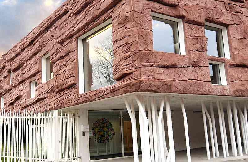 Diffaroc - Création de faux rochers en béton