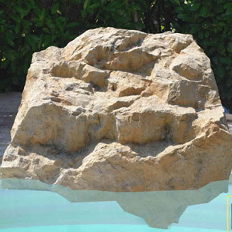 Faux rocher local technique