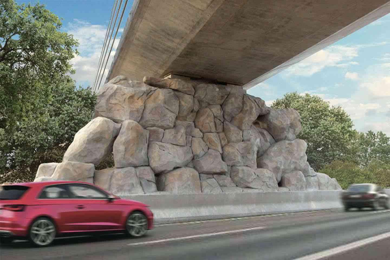 Faux rochers - domaine public