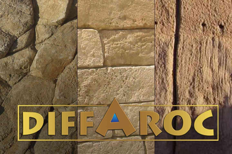 Rochers en béton Diffaroc