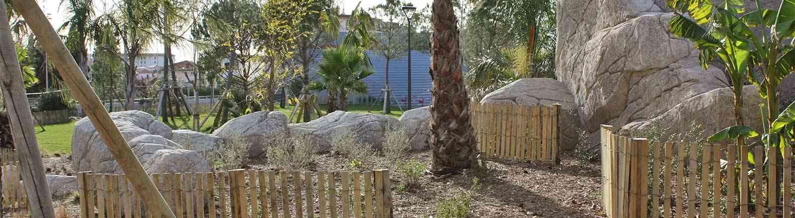 Aménagement d'un jardin public