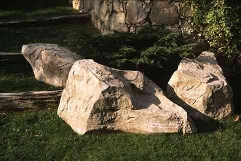 décors faux rochers